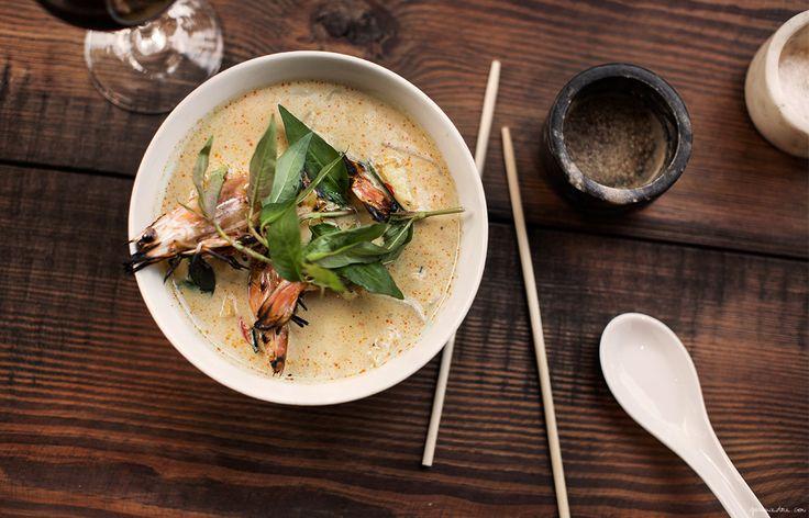 flinder's lane nyc laksa cocount curry soup recipe restaurant food garance dore photos