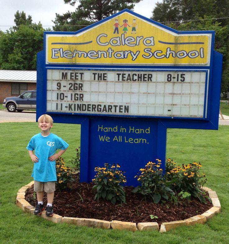Aiden's starting school;)