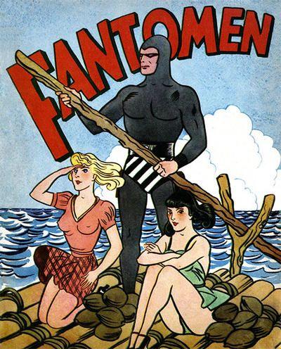 Cover for Fantomen [julalbum] (Serieförlaget [1950-talet], 1944 series) #[1950]
