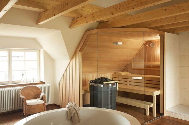 Sauna im Badezimmer Saunas, Interiors and House - sauna im badezimmer