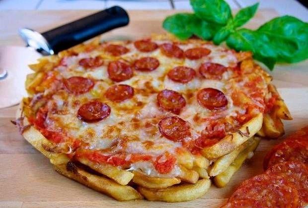 French Fry Recipes Pizza