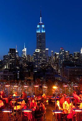 230 Fifth rooftop bar. Amazing.