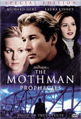 "Mothman Prophecies (2002) directed by Mark Pellington.... after the untimely death of his wife lead character John Klein (Richard Gere): ""Two weeks ago, we were house hunting. One day you're just driving along in your car, and the universe just points at you and says, Ah, there you are, a happy couple. I've been looking for you. I've been looking for you."""