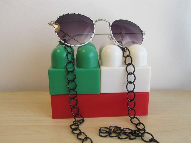 Black metallic chain. Stylish accessories.