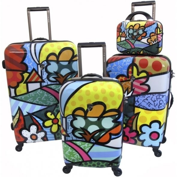 teenage girl cute luggage sets and suitcases