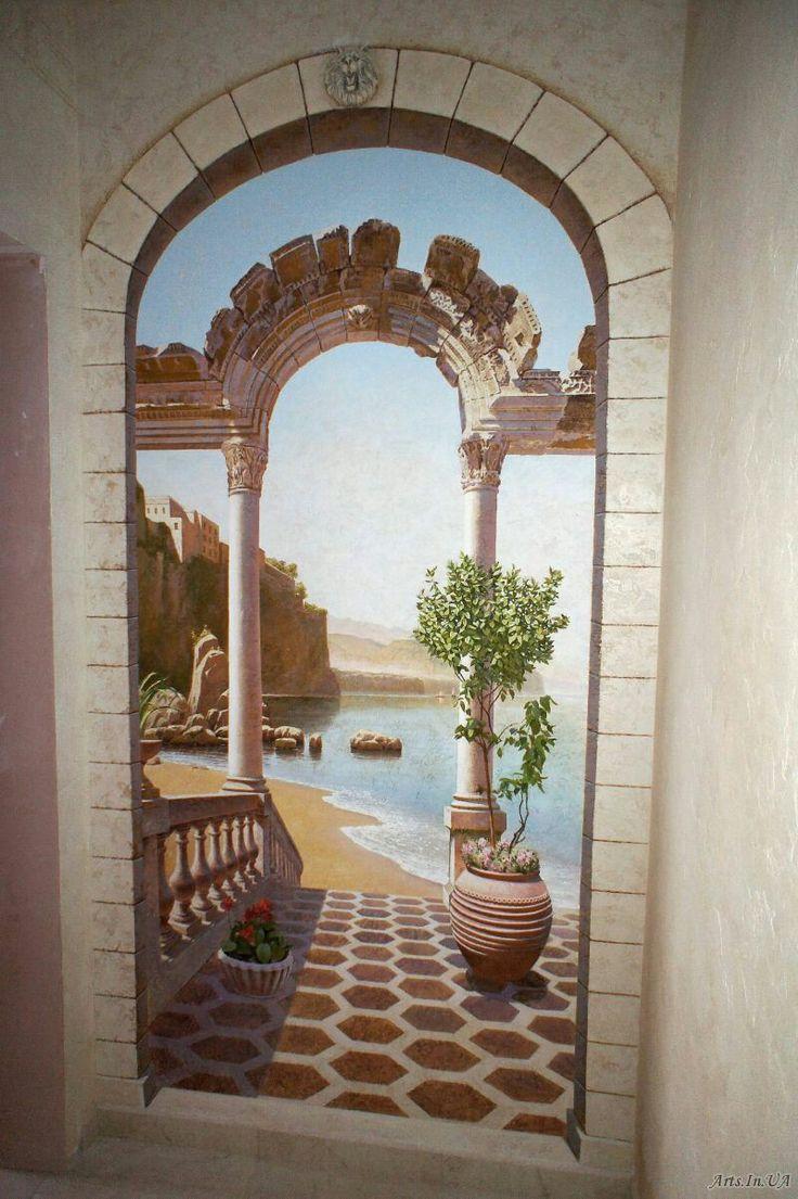 3060 best images on pinterest wall sea murals wall murals art walls garden arches trompe street art perspective scenery bellisima amipublicfo Choice Image