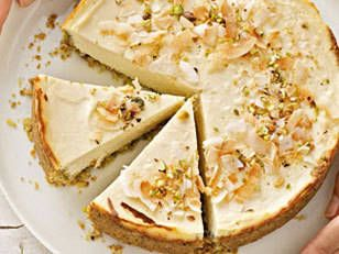 Crunchynut Cheesecake - A guilt-free delicious cheesecake without sugar! #IQS