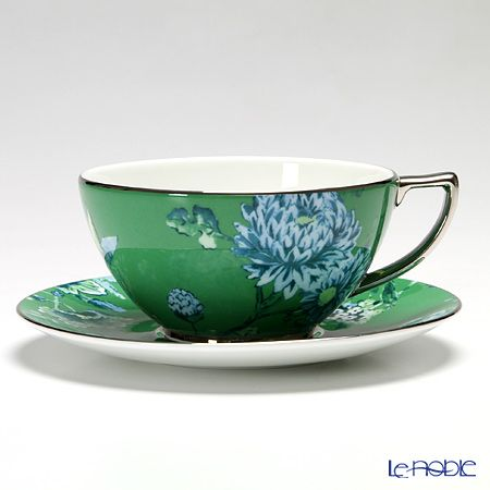 Wedgwood Jasper Conran Chinoiserie tea cup and saucer 300cc (Green)