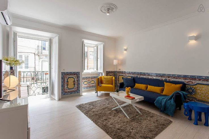 Check out this awesome listing on Airbnb: 2 BR Apt W/Terrace in Center Lisbon - Apartments for Rent in Lisboa