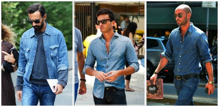 double denim outfits
