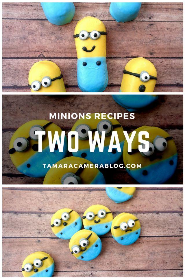 Minions Twinkies & Minions OREOs - Tamara Like Camera
