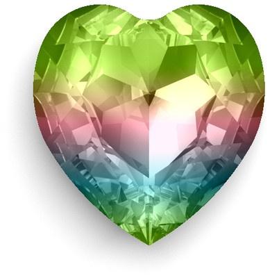 SWAROVSKI CRYSTALLIZED™ Rainbow Heart Crystal