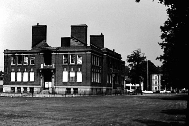Putnam Grammar School Putnam Connecticut 1955 Flood