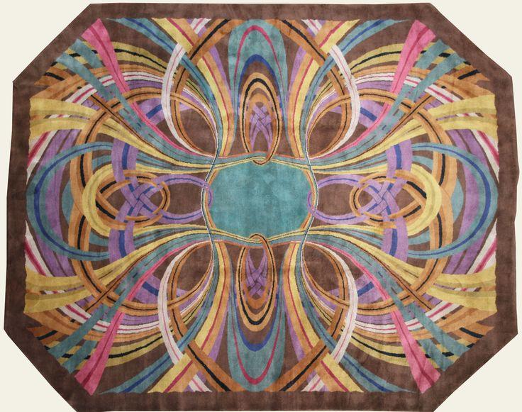 Tapis Art Nouveau