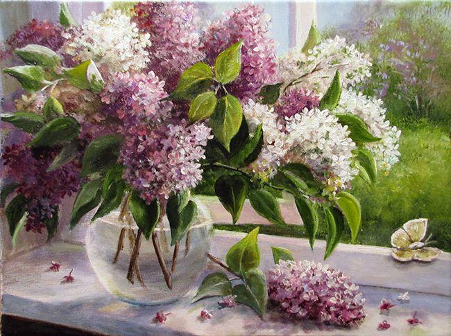 Воробьева Ольга. Запахи весны