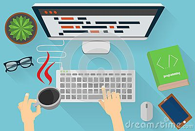 Java Programmers Workplace - Download From Over 42 Million High Quality Stock Photos, Images, Vectors. Sign up for FREE today. Image: 55956969