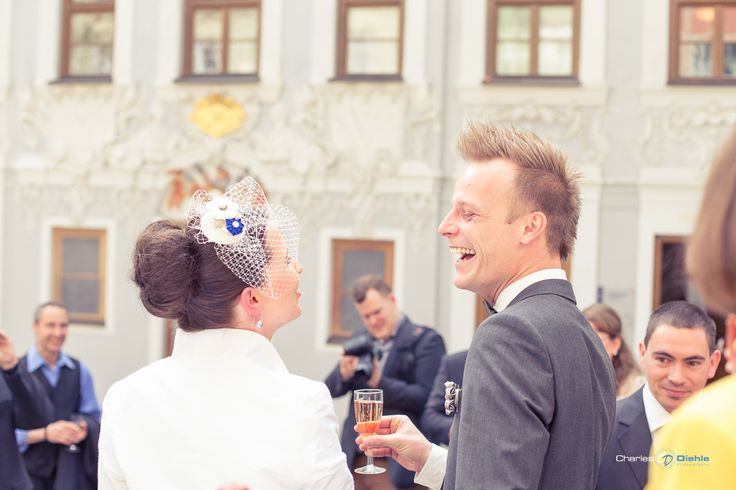 Frisch verheiratet....nach dem Standesamt....