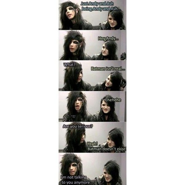 Ashley purdy ❤ liked on Polyvore featuring bands, quotes, bvb, pictures, phrase, saying and text