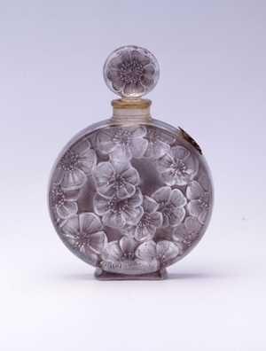 Antique vintage Lalique perfume scent bottle 《ジャルディネ》 1922年 ルネ・ラリック作/ヴォルネイ 海の見える杜美術館