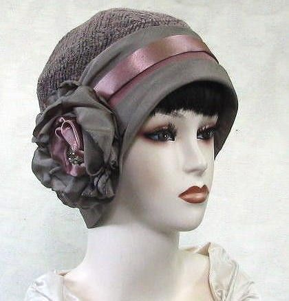 Womens 1920's Gatsby Art Deco Vintage Style Cloche Hat ♥ by BuyGail