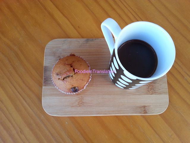 Foodie in Translation: Muffin ai mirtilli rossi e arancio