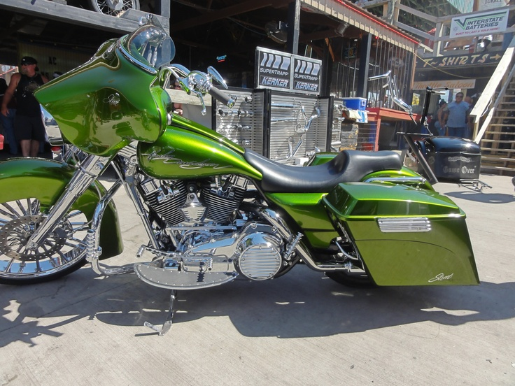 Sturgis Paul Yaffe Bagger Nation Harley Bikes Bagger Bike Rally