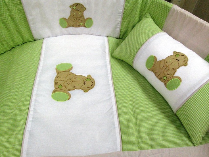 Scruffy hippo linen set, 100% cotton chambray with percale backing and sheeting. Lime, stone and white make a unique combination for a fresh nursery with a difference.
