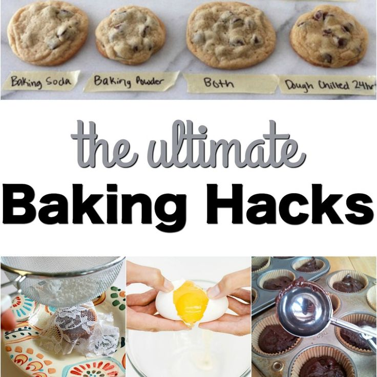 I love to bake, but there are so many times that things don't quite come out like I expected! Does that ever happen to you? Well, no worries, this list of the ULTIMATE BAKING HACKS will help you avoid those common baking disasters (and just some other really cool ideas!)