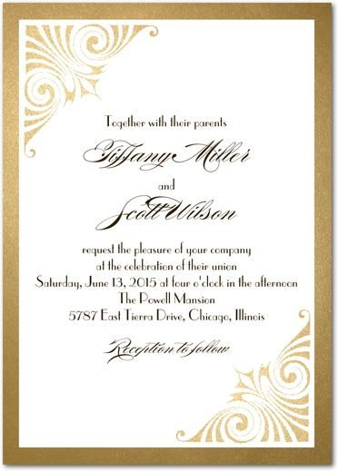 Love and Luster - Signature White Wedding Invitations - Coloring Cricket - Umber - Brown : Front
