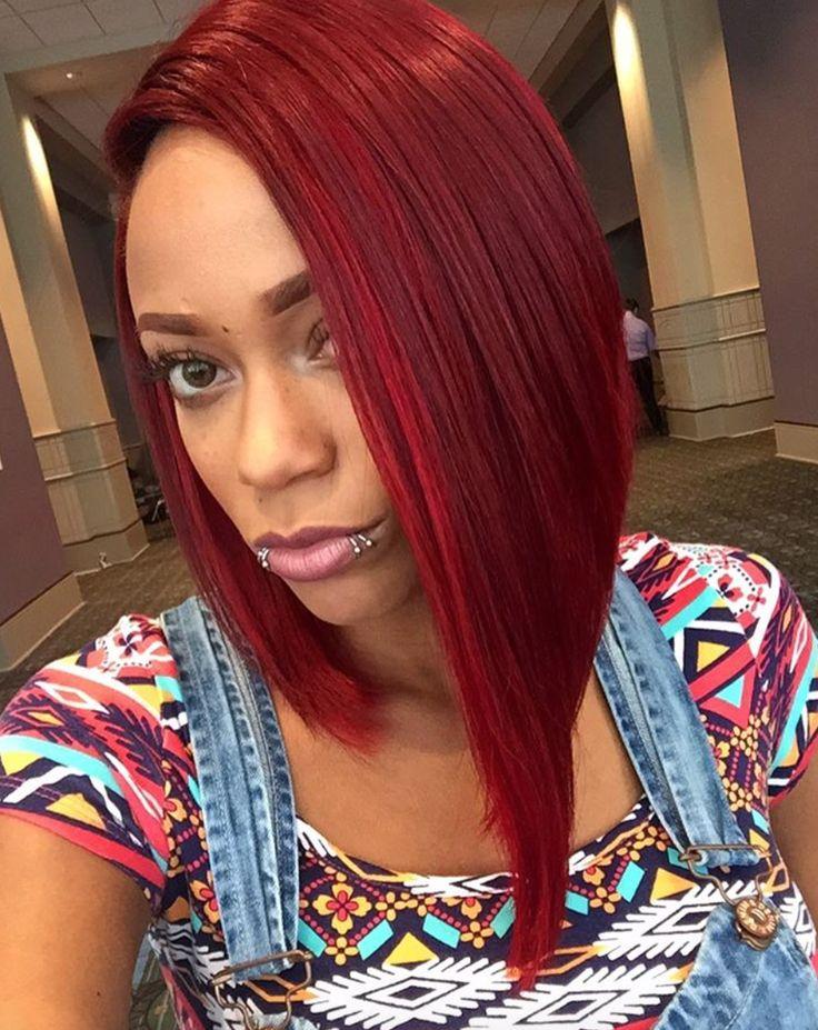 Dope Red @hairbychantellen - http://community.blackhairinformation.com/hairstyle-gallery/short-haircuts/dope-red-hairbychantellen/
