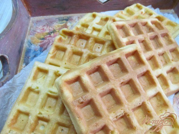 Вафли на сметане - пошаговый рецепт с фото