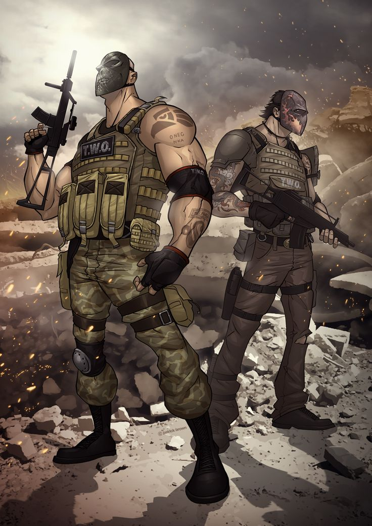 Army of Two: The 40th Day by PatrickBrown.deviantart.com on @deviantART
