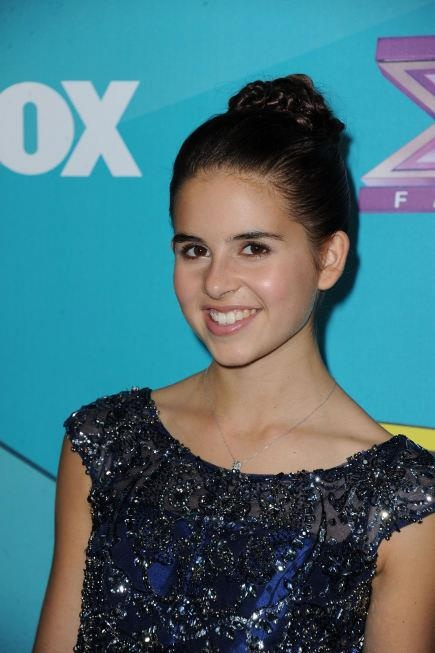 carly rose sonenclar at The X Factor finalists party. carly has my vote to win!