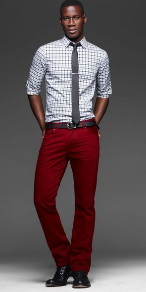 17 best ideas about Maroon Pants Mens on Pinterest | Men's style ...