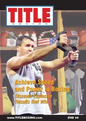 TITLE DVD - Achieve Speed and Power In Boxing by Title Boxing. $19.99. The old saying that you can't coach speed is going by the wayside. New technology and training habits have shown that you can now increase your overall speed and power. There are specific drills and exercises you can work on to increase your speed and power. 3-time world champion and top professional trainer Jeff Fenech shows you the secrets of the pros for developing and increasing these tw...
