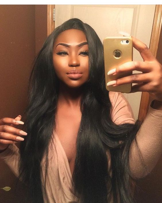 Peruvian Virgin Hair With Closure Natural Black&99J Burgundy Bundles With Closure Annabelle Hair 3 Bundles With Lace Closure