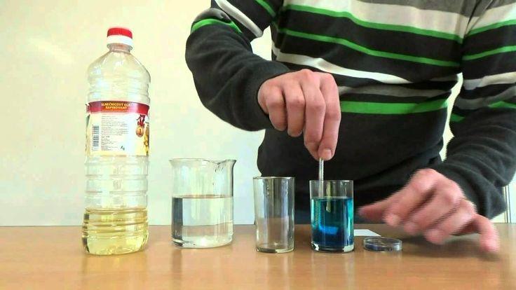 Voda - experimenty