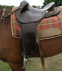 Australian stock saddle really want one for polox