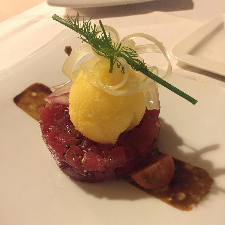 E gustiamoci sta tartara di tonno!!!! #ITALY_FOODS #_food_cibo #cagliarifood #verso_sud_foods #inpiattati  #loves_food #loves_foods_ #wow_delica #instafood_experience  #loves_united_sardegna #igw_italy #likes_sardegna #kings_masterchef by mauro_caredda