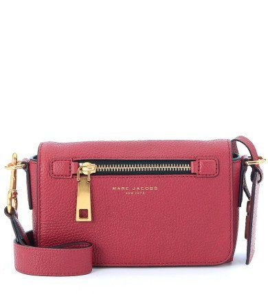 MARC JACOBS Borsa A Tracolla Crossbody Marc Jacobs Gotham City In Pelle Rosa Fragola. #marcjacobs #bags #shoulder bags #crossbody