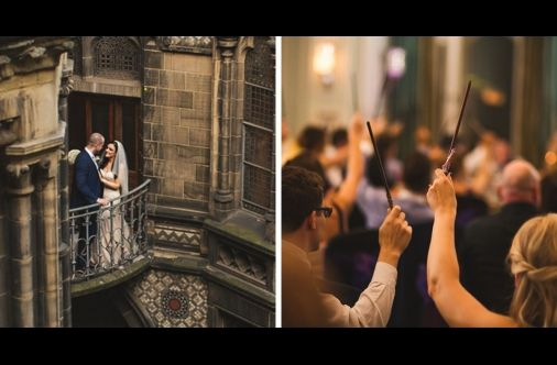 "This ""Harry Potter"" Inspired Wedding Is Simply Spellbinding"