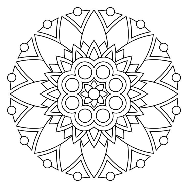 free printable mandala coloring pages coloring mandalas maybe even drawing them by yourself first is a very fine mindful exercise and its fun too - Art Therapy Coloring Pages Mandala