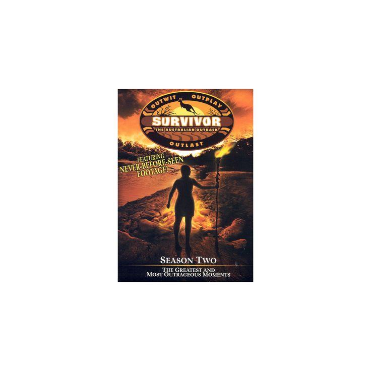 Survivor season 2:Greatest & most out (Dvd)