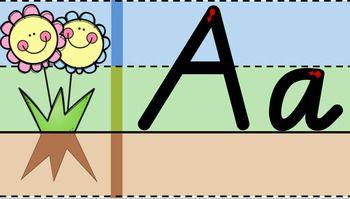 Victorian Modern Cursive Handwriting Alphabet by Miss Ryan's Classroom | Teachers Pay Teachers