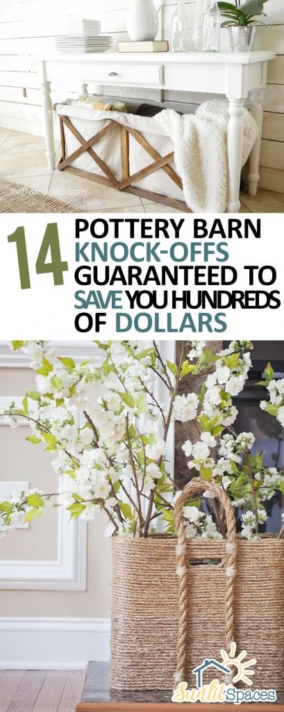 14 {Pottery Barn Knock-Offs} Guaranteed To Save You Hundreds Of Dollars | Sunlit Spaces