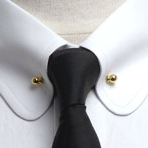 Men's dress shirts featuring rounded collars are a great example of stylish men's image. The round collar shirt was part of Eton age.