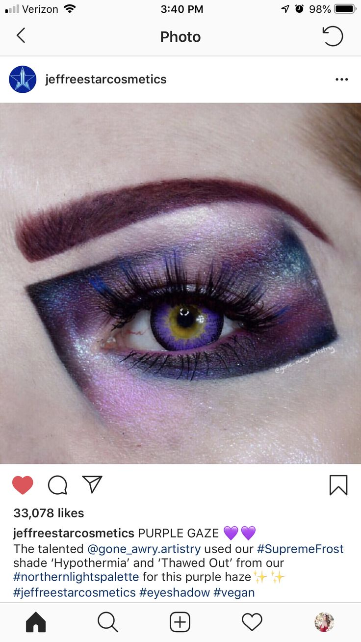 Pin by Ashley Luccitti on Makeup Purple contacts