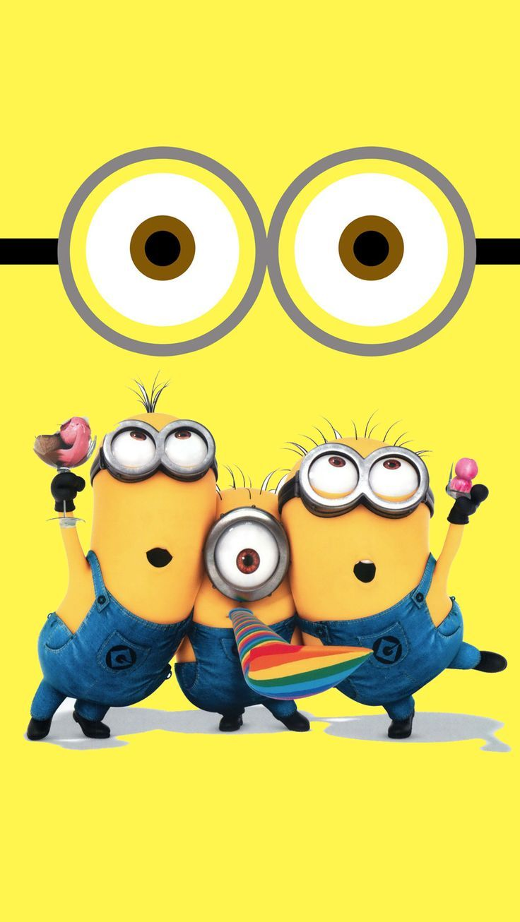 Tumblr iphone wallpaper minions - A Cute Collection Of Despicable Me Minions Wallpapers Images
