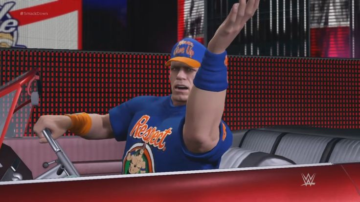 WWE 2K17: John Cena returns to Smackdown (with new Entrance] [Ep. 3] [PS...