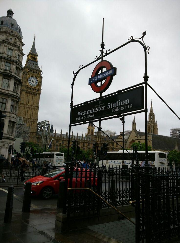 The underground in London
